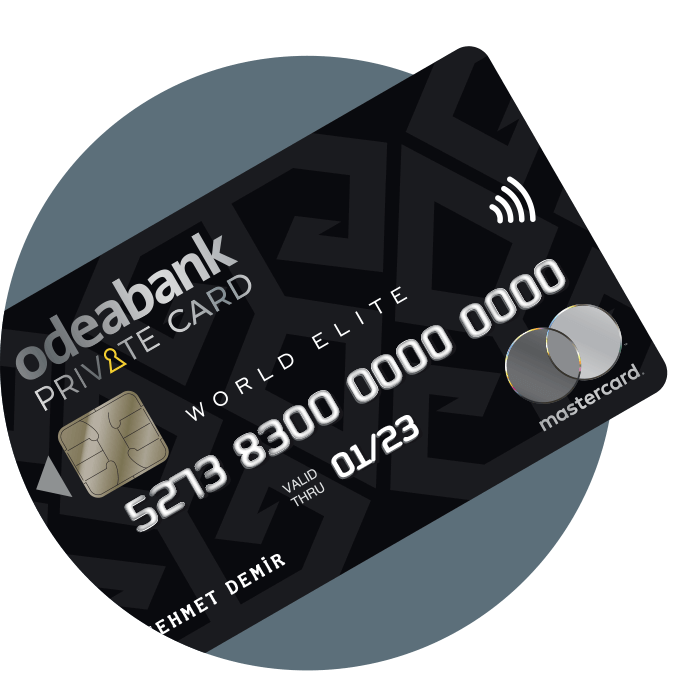Odeabank Private Card